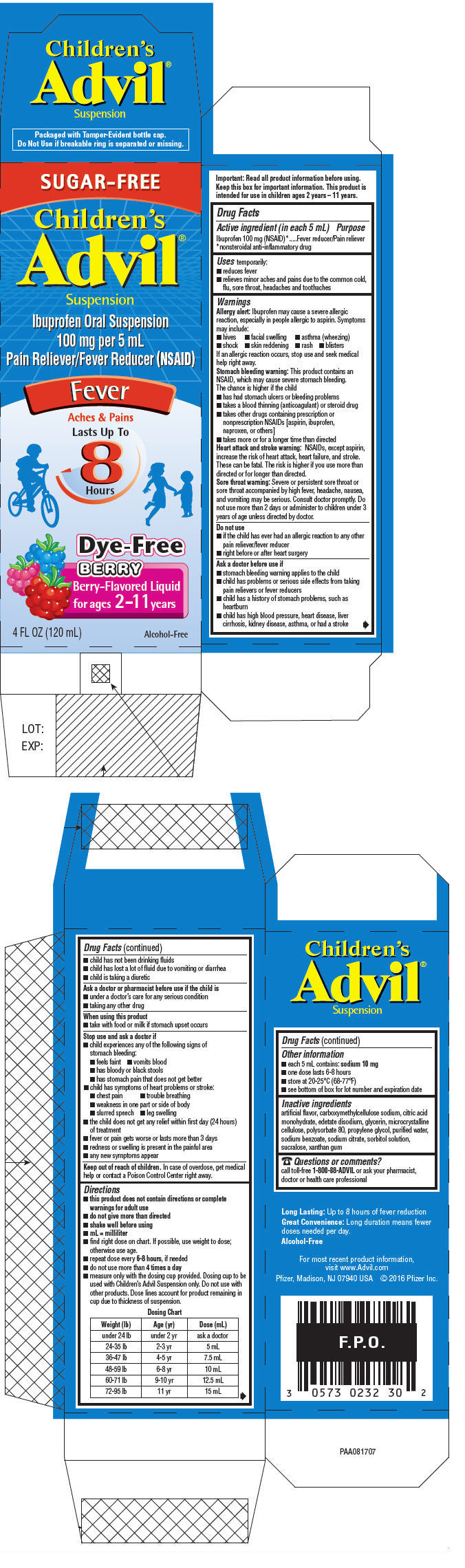 PRINCIPAL DISPLAY PANEL - 120 mL Bottle Carton - Berry-Flavored