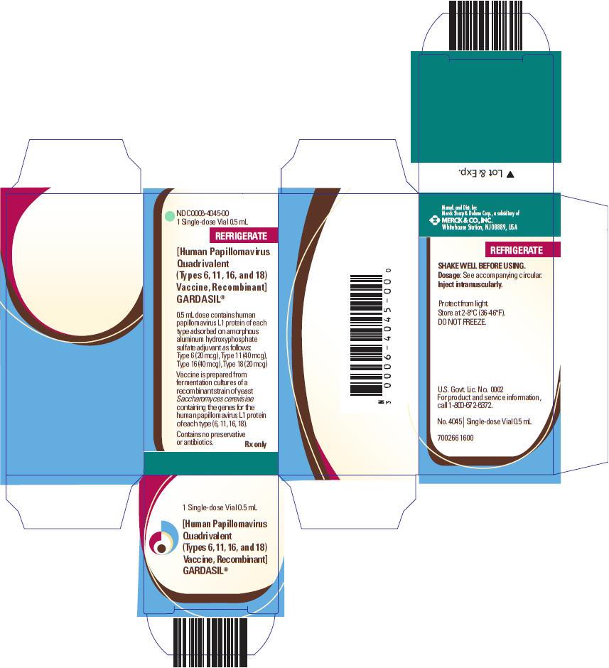 PRINCIPAL DISPLAY PANEL - 0.5 mL Vial Carton