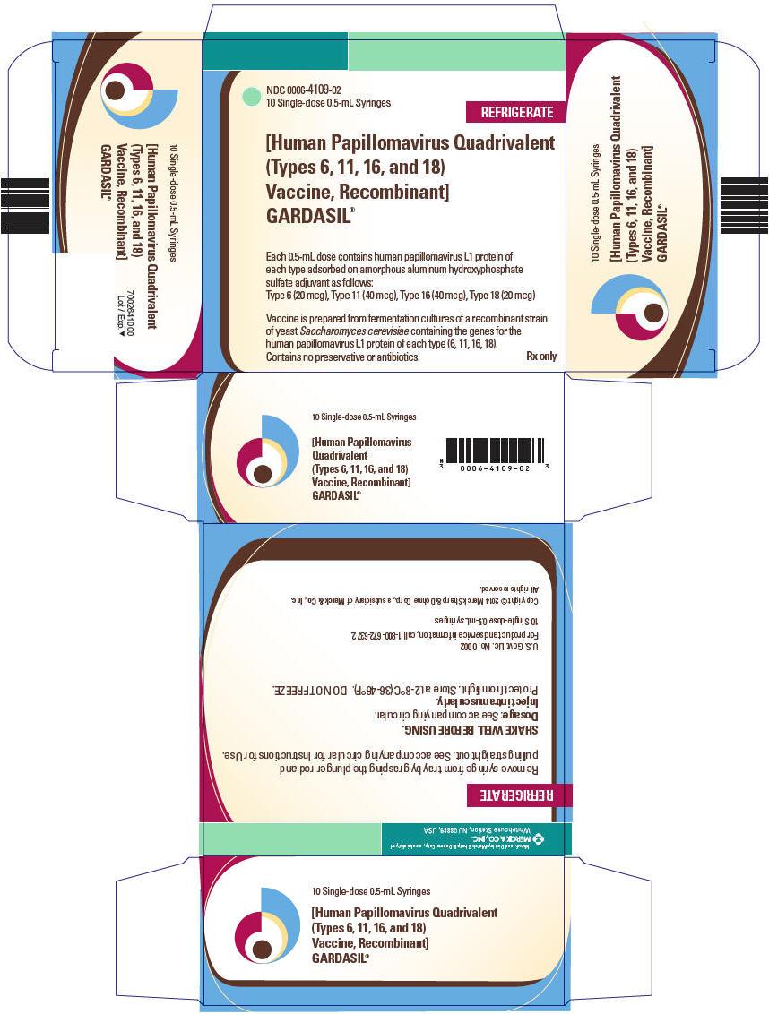 PRINCIPAL DISPLAY PANEL - 10 Single-Dose 0.5 mL Syringe Carton