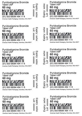 60 mg Pyridostigmine Bromide Tablets Blister