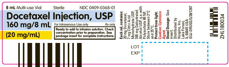 PRINCIPAL DISPLAY PANEL - 8 mL Vial Label