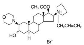 Rocuronium Structural Formula