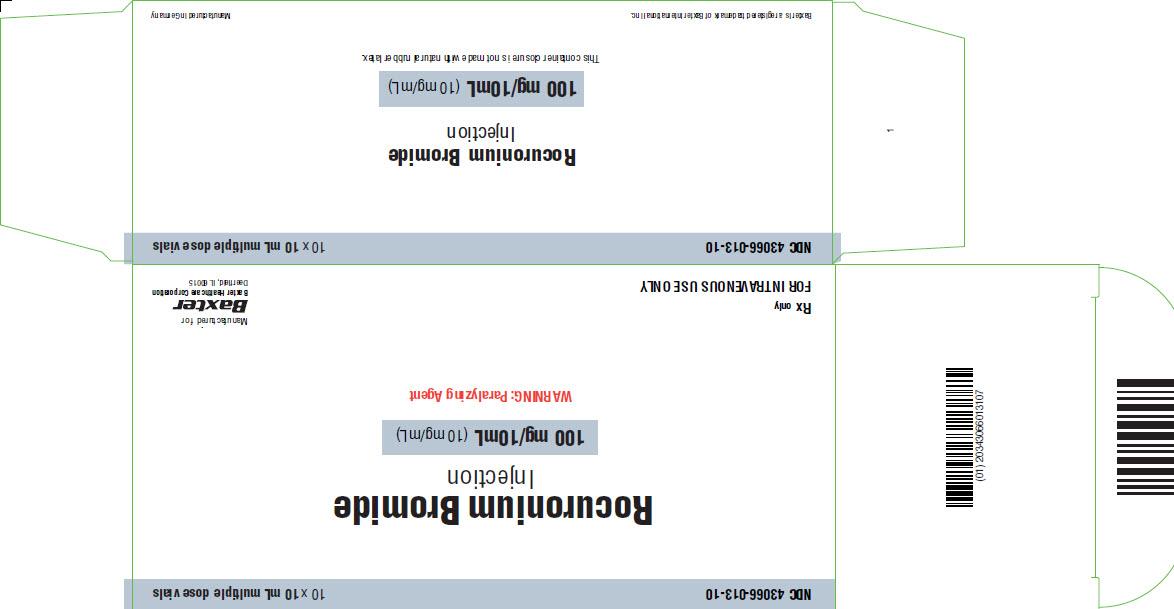 Rocuronium Representative Carton Label 50mg 43066-007-10 4 of 4