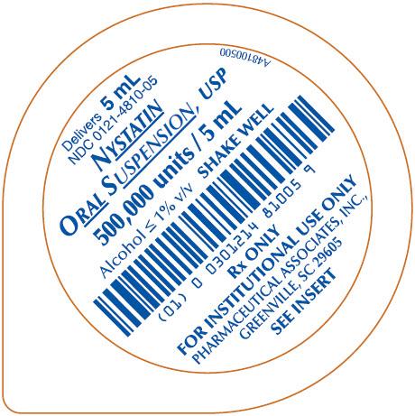 5 mL unit dose cup label