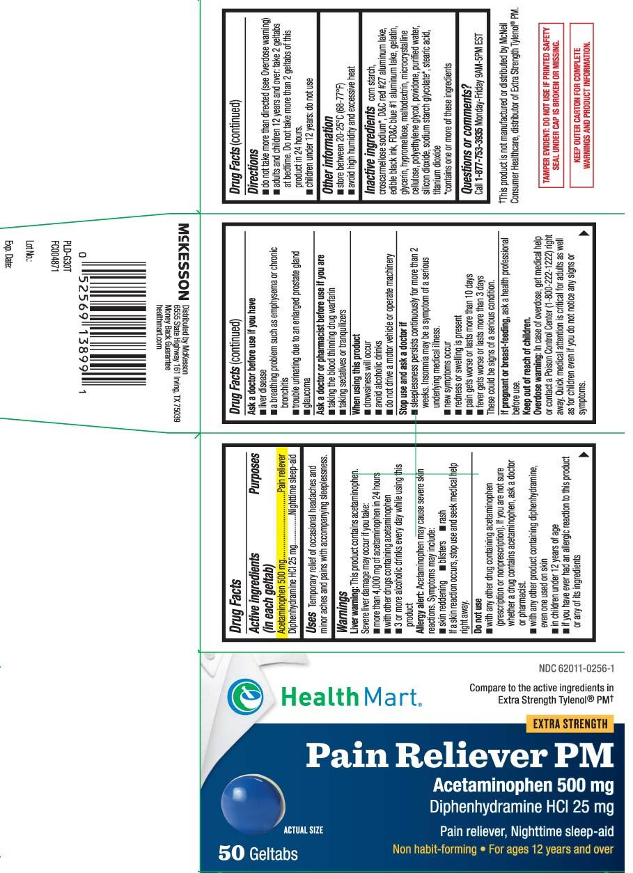 Acetaminophen 500 mg, Diphenhydramine HCL 25 mg
