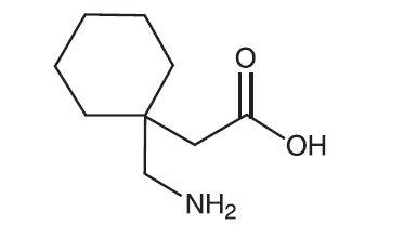 Molecula Formula Gabapentin