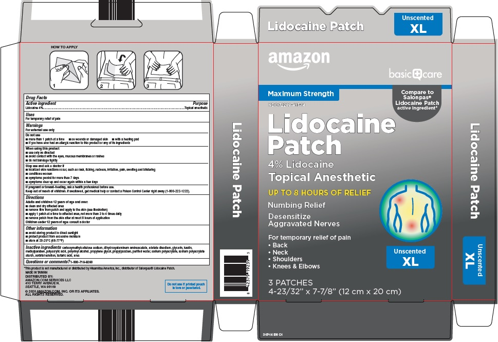lidocaine patch image