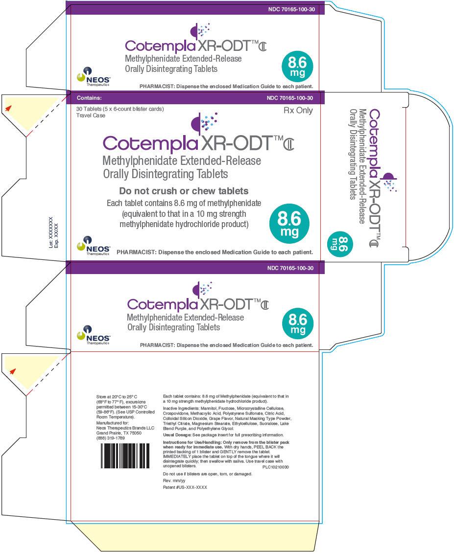 PRINCIPAL DISPLAY PANEL - 8.6 mg Tablet Blister Pack Carton