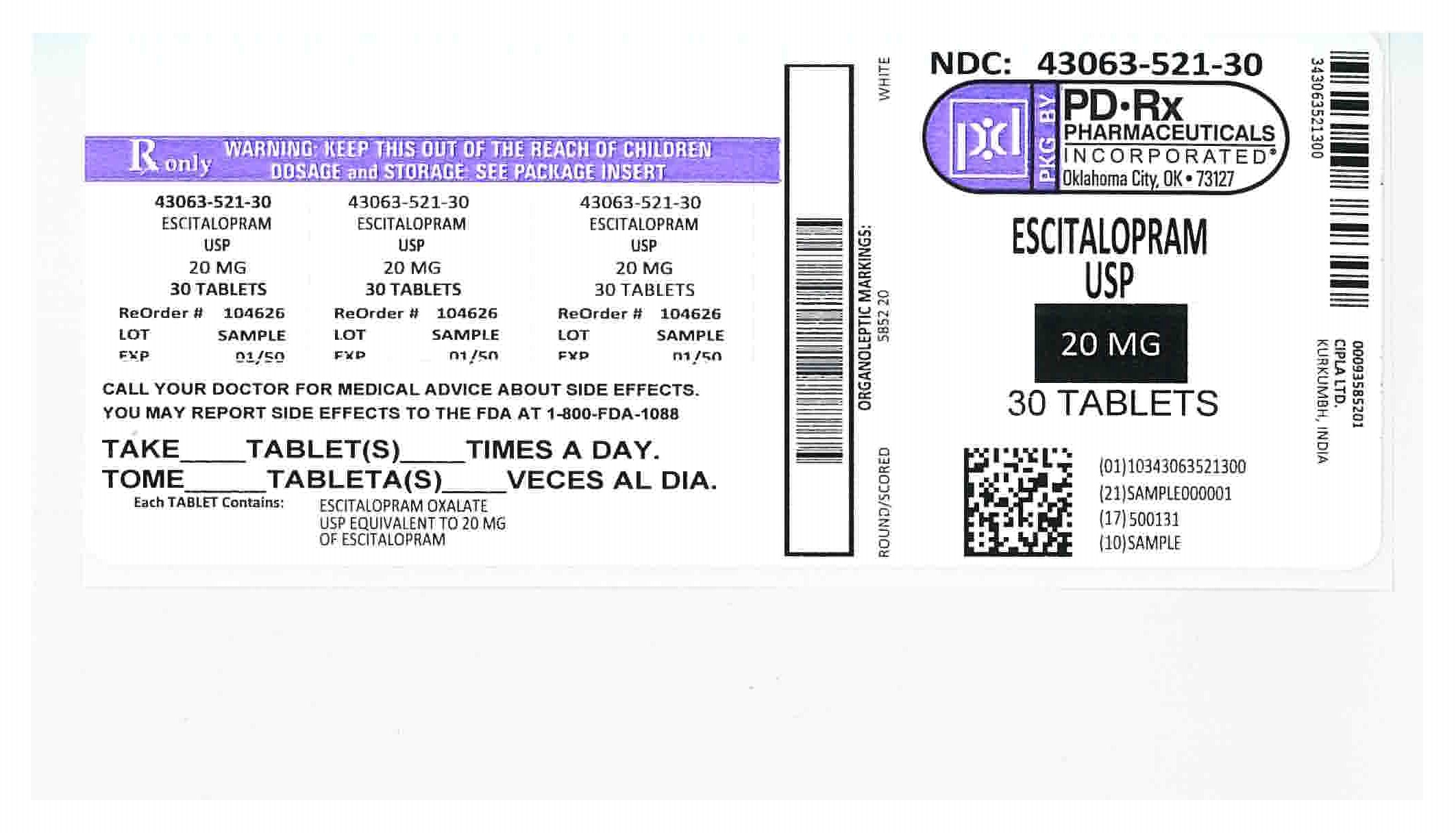 43063521 Label