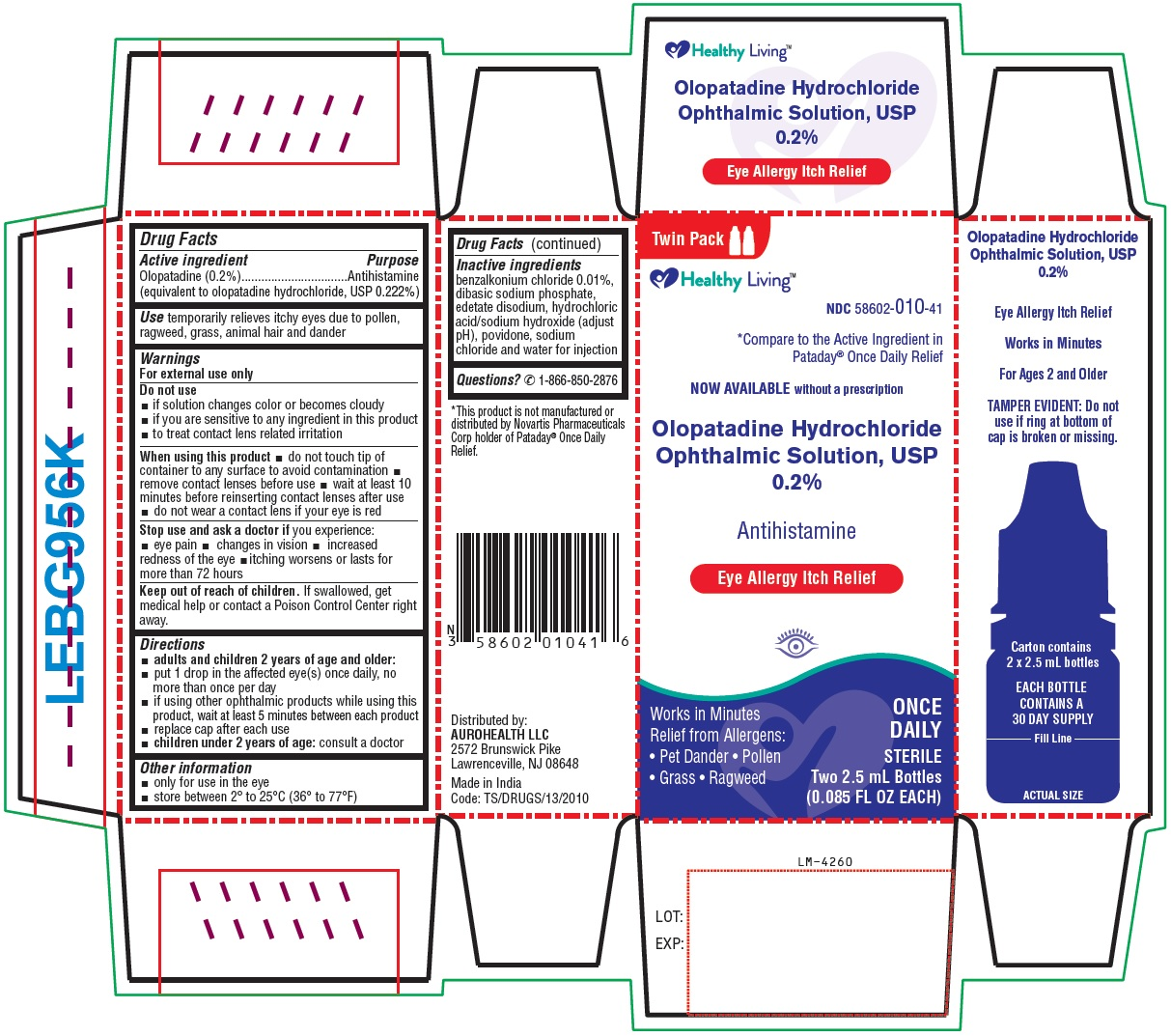 PACKAGE LABEL-PRINCIPAL DISPLAY PANEL-0.2% (2.5 mL Container Carton) Twin Pack