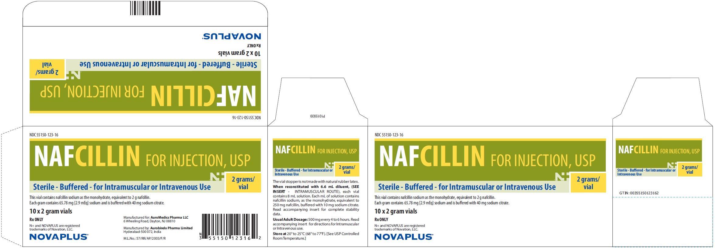 PACKAGE LABEL-PRINCIPAL DISPLAY PANEL - 2 g Box (10 Vial)