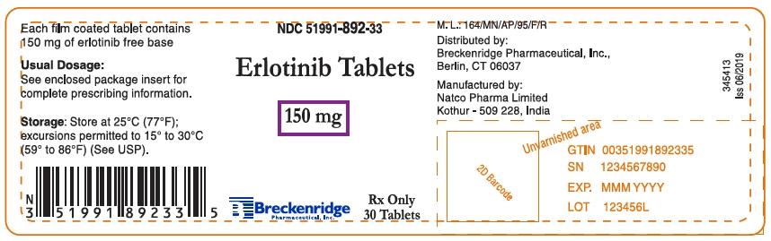 Principal Display Panel - 150 mg Tablet Bottle Label
