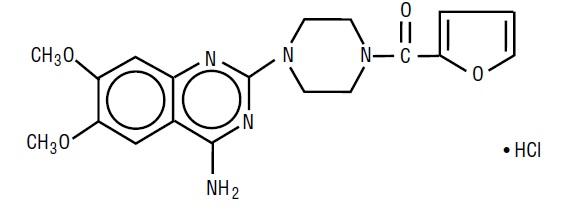 Prazosin Structure