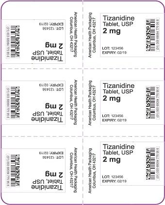 2 mg Tizanidine Tablet Blister