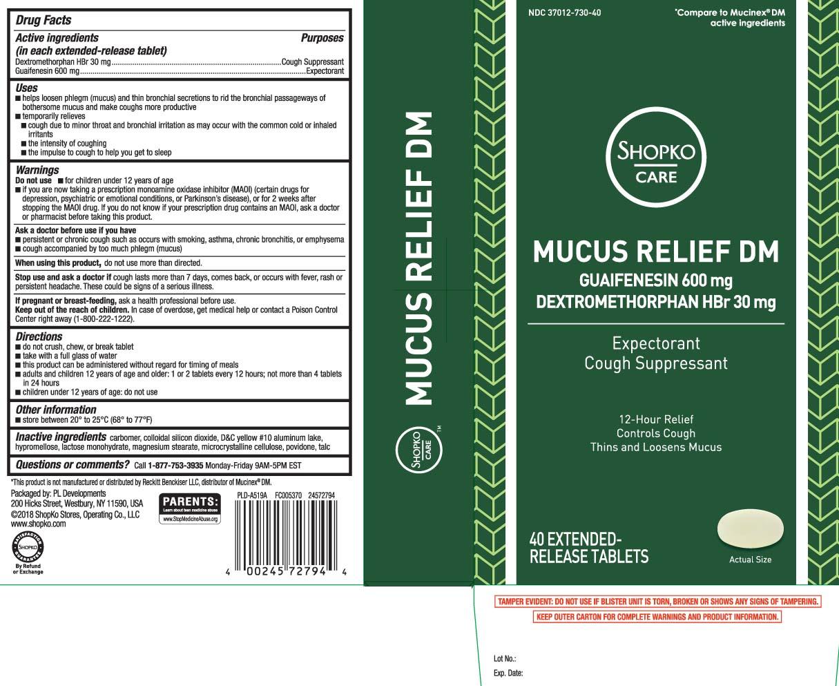 Dextromethorphan HBr 30 mg, Guaifenesin 600 mg
