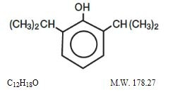 DIPRIVAN® Structure Formula