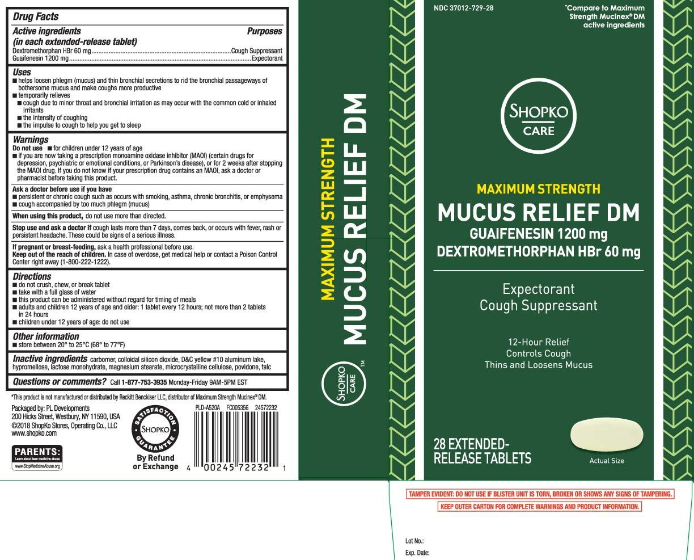 Dextromethorphan HBr 60 mg, Guaifenesin 1200 mg