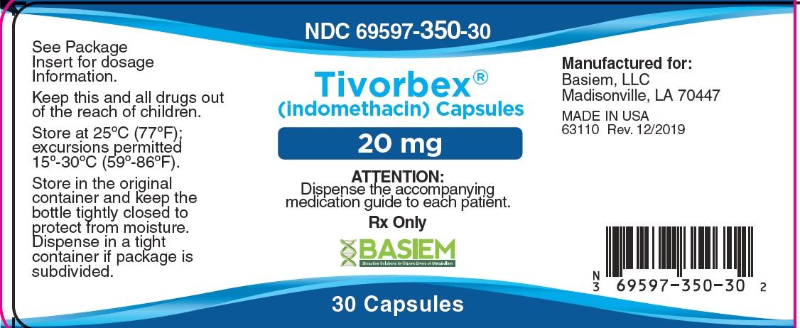 Tivorbex Label 20mg