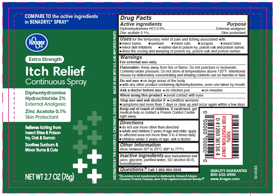 kroger itch relief