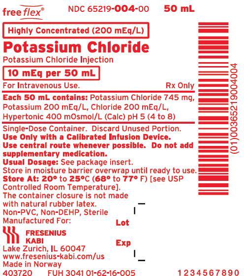 Package Label - Principal Display Panel - Potassium Chloride 10 mEq 50 mL Bag Label