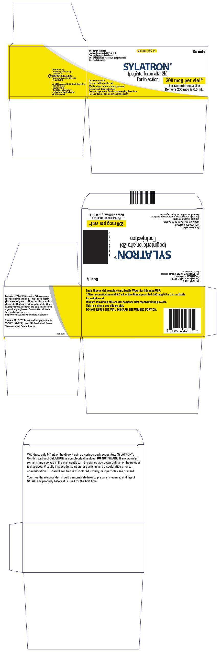 PRINCIPAL DISPLAY PANEL - Kit Carton - 200 mcg