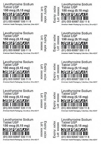 150 mcg Levothyroxine Sodium Tablet Blister