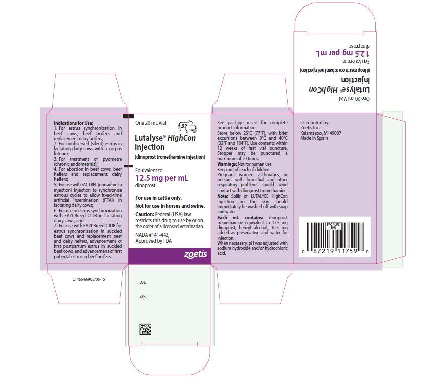 Lutalyse HighCon 20 mL Carton