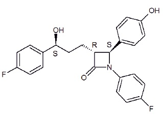 ezetimibe-structure