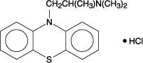 Promethazine Hydrochloride Chemical Structure