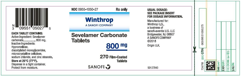 Principal Display Panel - 800 mg Bottle Label