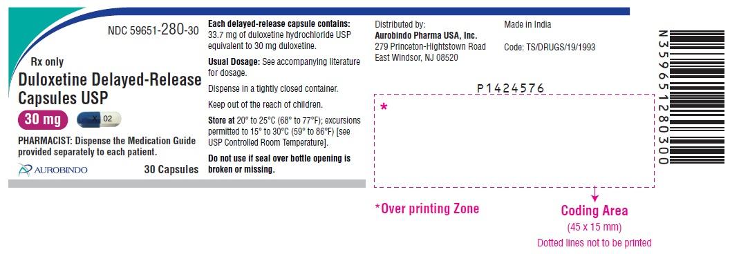 PACKAGE LABEL-PRINCIPAL DISPLAY PANEL - 30 mg (30 Capsules Bottle)