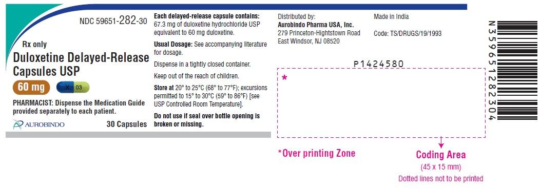 PACKAGE LABEL-PRINCIPAL DISPLAY PANEL - 60 mg (30 Capsules Bottle)