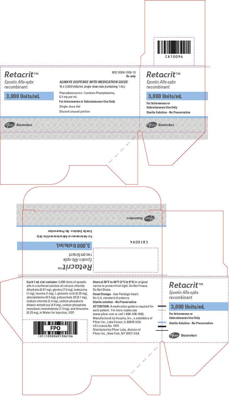 PRINCIPAL DISPLAY PANEL - 3,000 Units/mL Vial Carton