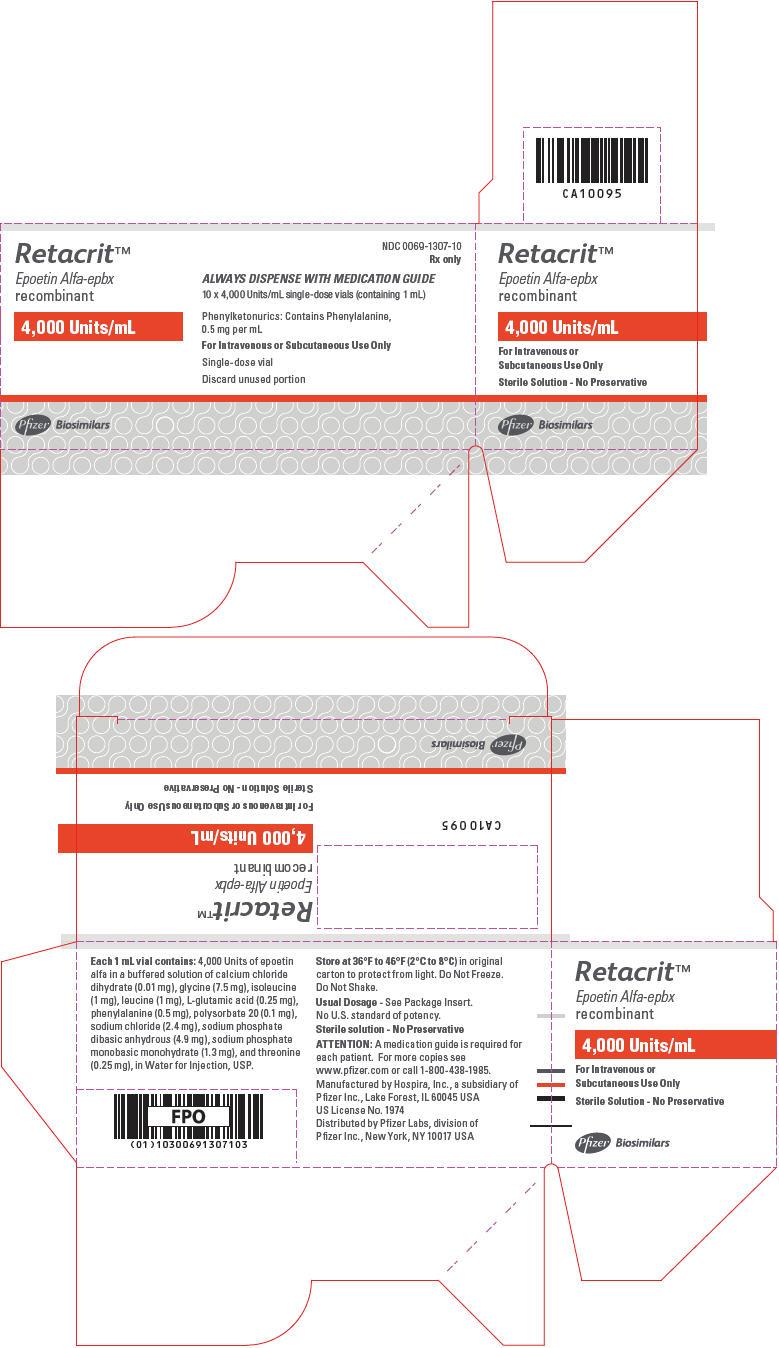 PRINCIPAL DISPLAY PANEL - 4,000 Units/mL Vial Carton