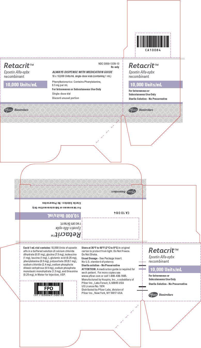PRINCIPAL DISPLAY PANEL - 10,000 Units/mL Vial Carton