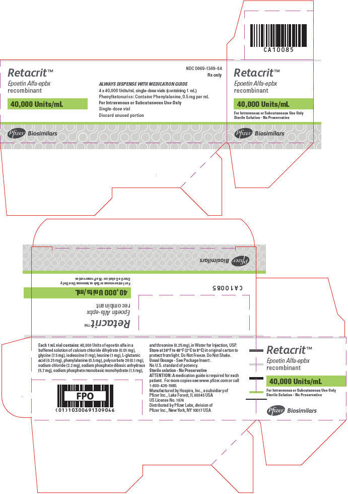PRINCIPAL DISPLAY PANEL - 40,000 Units/mL Vial Carton