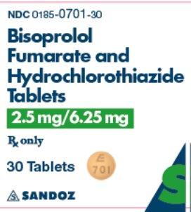 2.5 mg / 6.25 mg x 30 Tablets