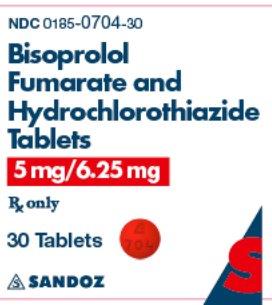 5 mg/6.25 mg x 30 Tablets