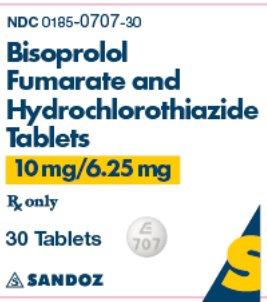 10 mg / 6.25 mg x 30 Tablets