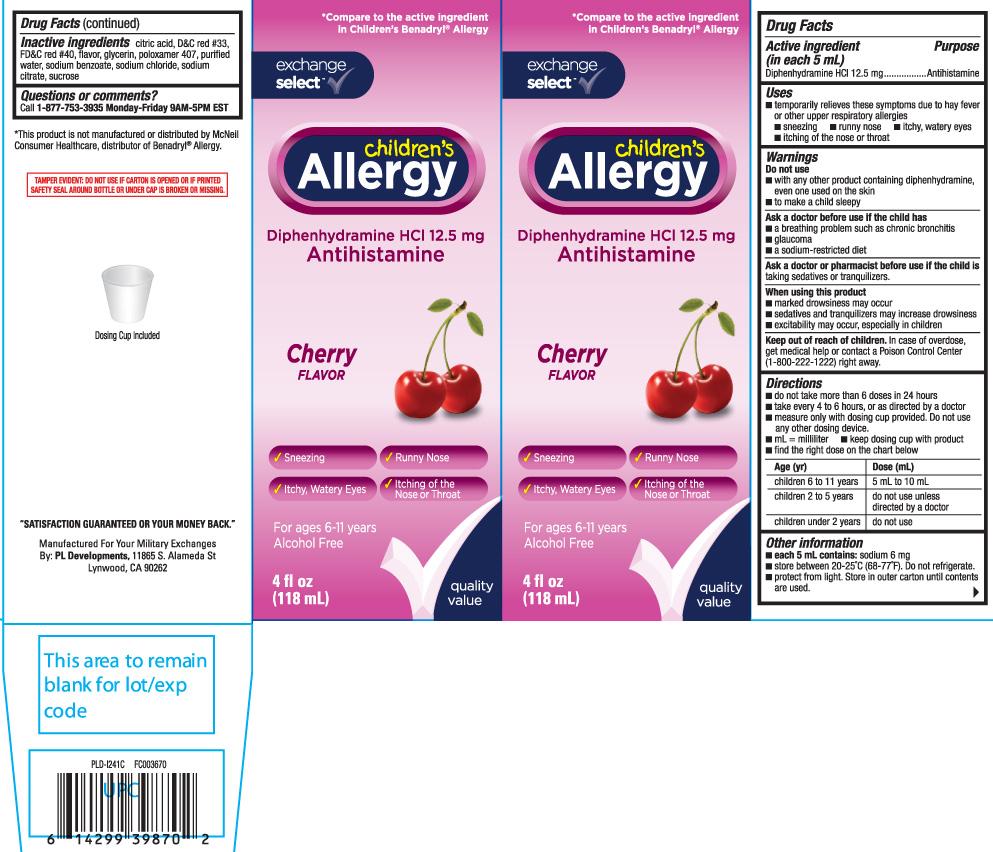 Diphenhydramine HCI 12.5 mg