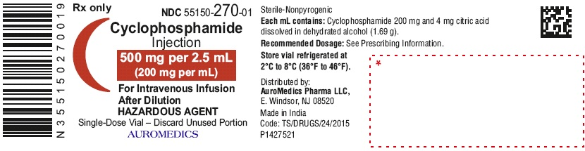 PACKAGE LABEL-PRINCIPAL DISPLAY PANEL- 500 mg per 2.5 mL (200 mg per mL) - Container Label