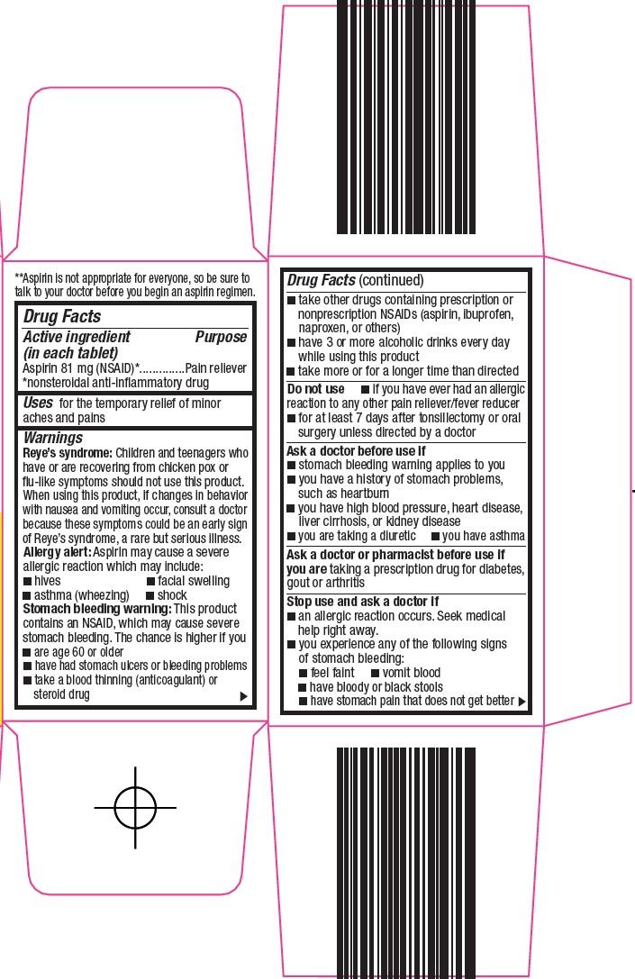 Aspirin 81 mg Carton Image 2