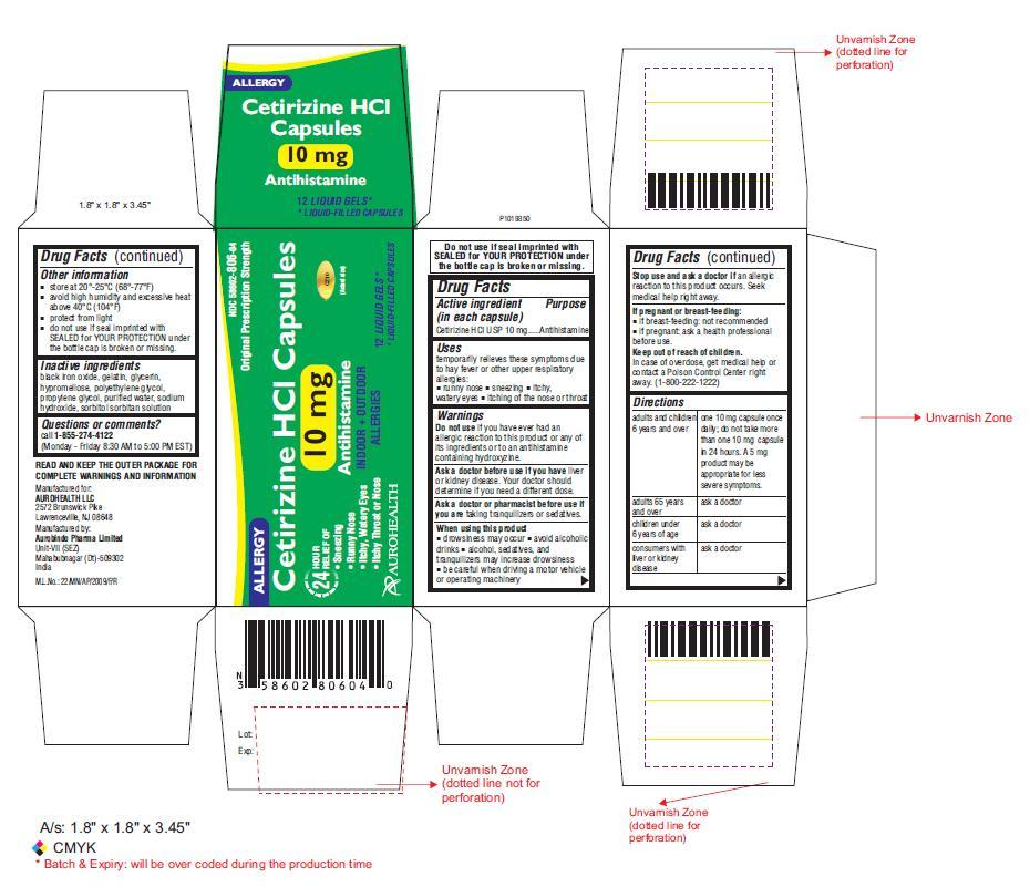 PACKAGE LABEL-PRINCIPAL DISPLAY PANEL -10 mg (25's Capsule Container Carton Label)