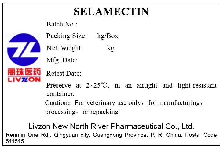 Selamectin Label