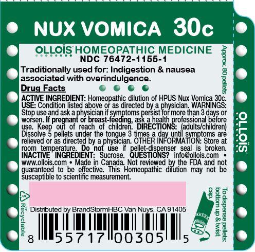 Nux Vomica 30c
