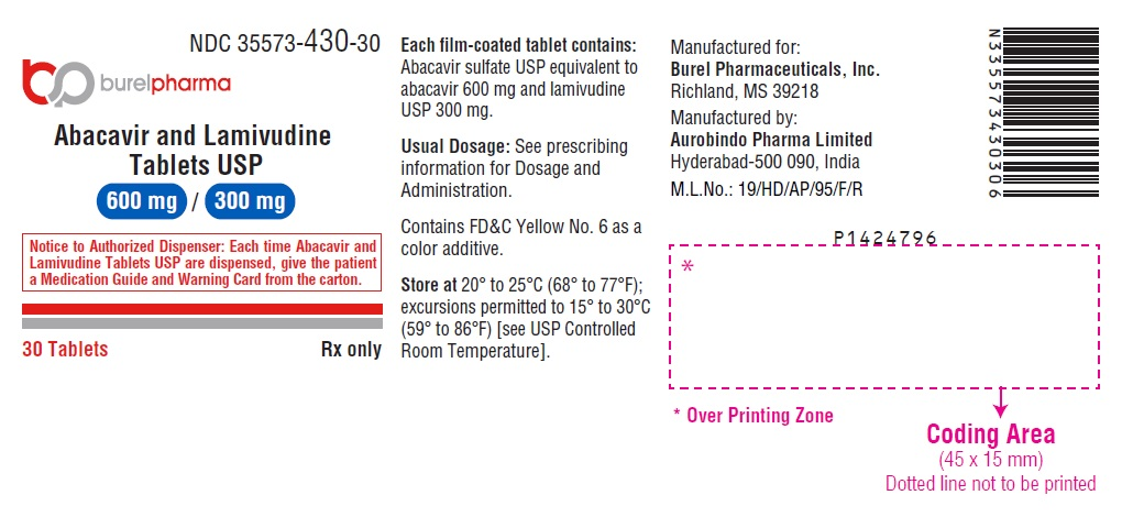 PACKAGE LABEL-PRINCIPAL DISPLAY PANEL - 600 mg/300 mg (30 Tablets Container)