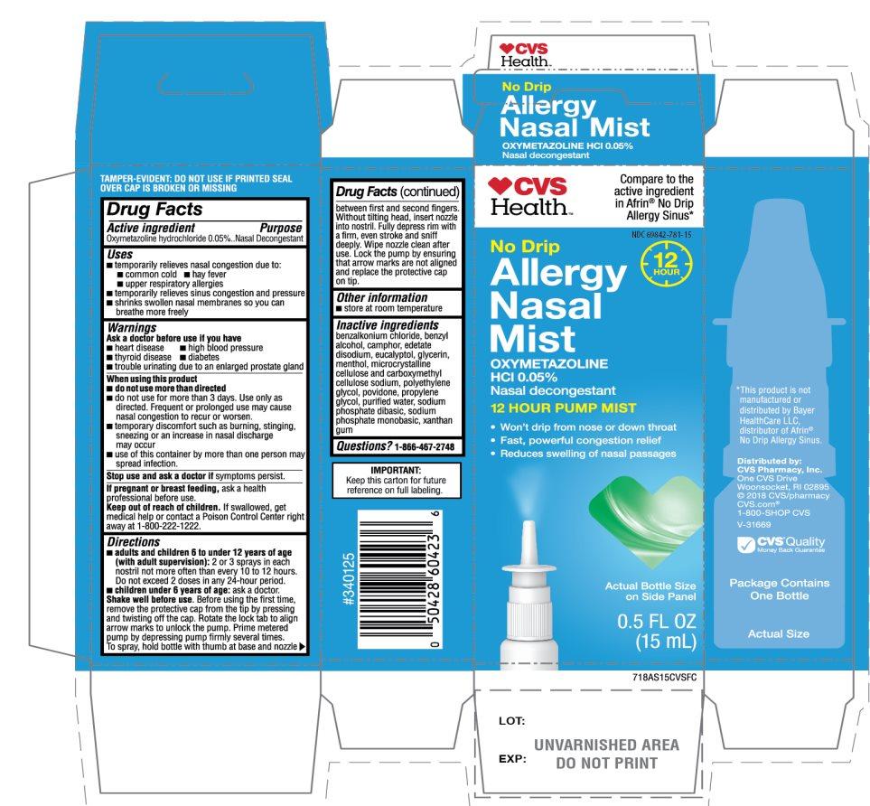 CVS Health No Drip Allergy Nasal Mist
