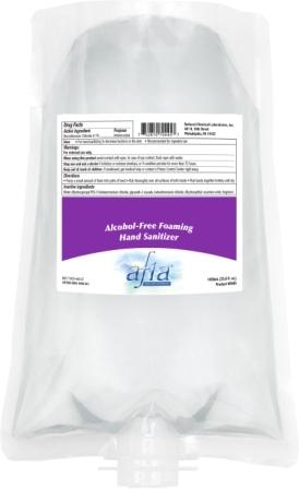 Afia Alcohol-Free Foaming Hand Sanitizer