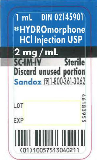 PRINCIPAL DISPLAY PANEL - 1 mL Ampule Label