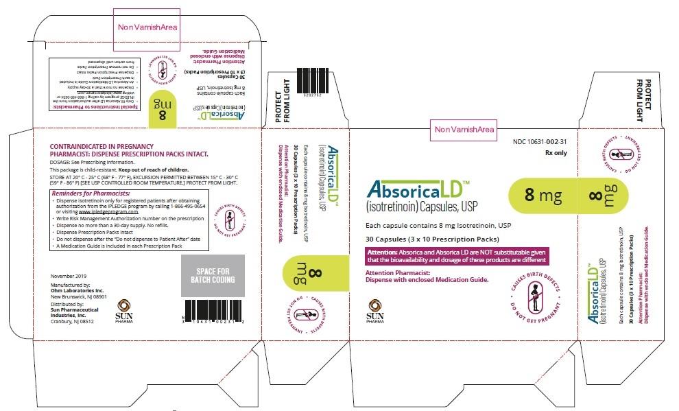 Absorica LD-8mg-Carton